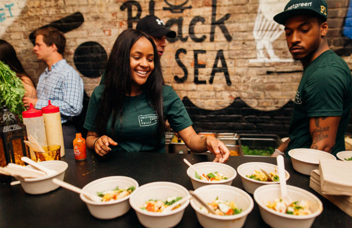 A fast casual chain where cash is no longer king