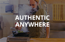Authentic anywhere
