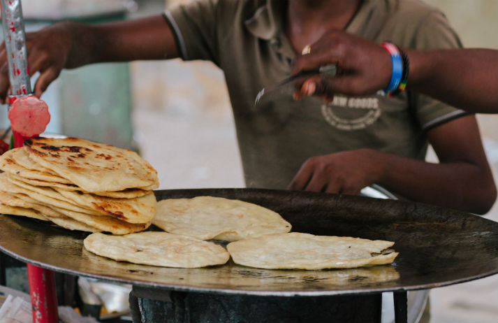 Home-made breakfast is still a staple in India
