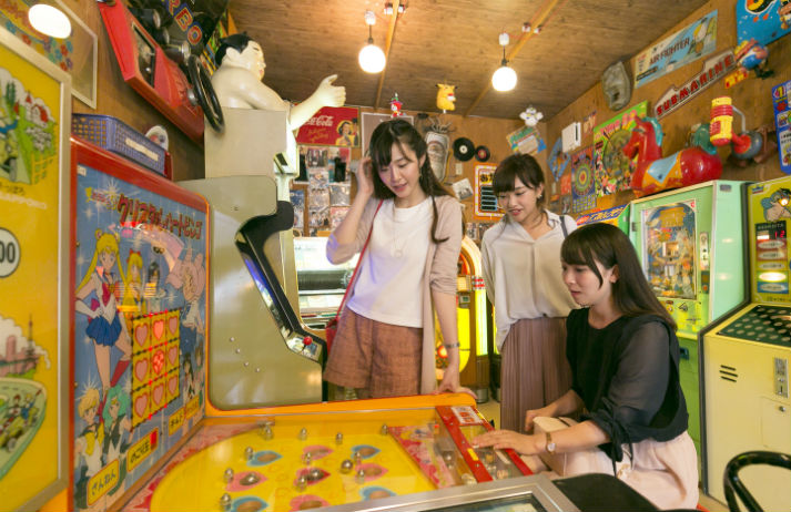 Nostalgia brings people together in Japan