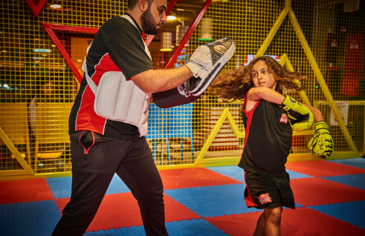 Little Gladiators uses tech to encourage more kids to exercise