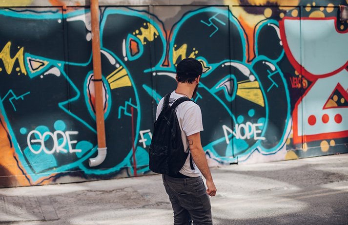 How has graffiti gained cultural credibility
