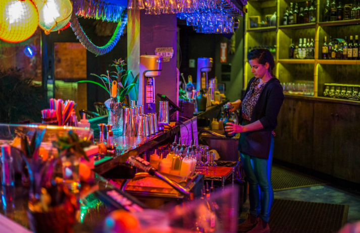 How are tiki bars being revived for young Americans?