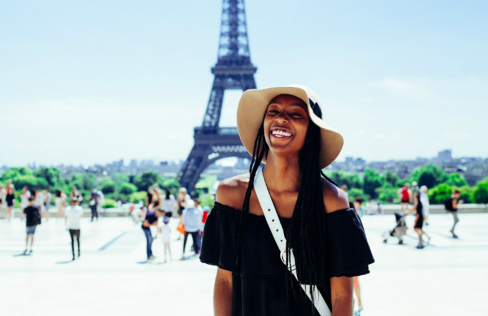 How do young travellers plan their trips abroad?