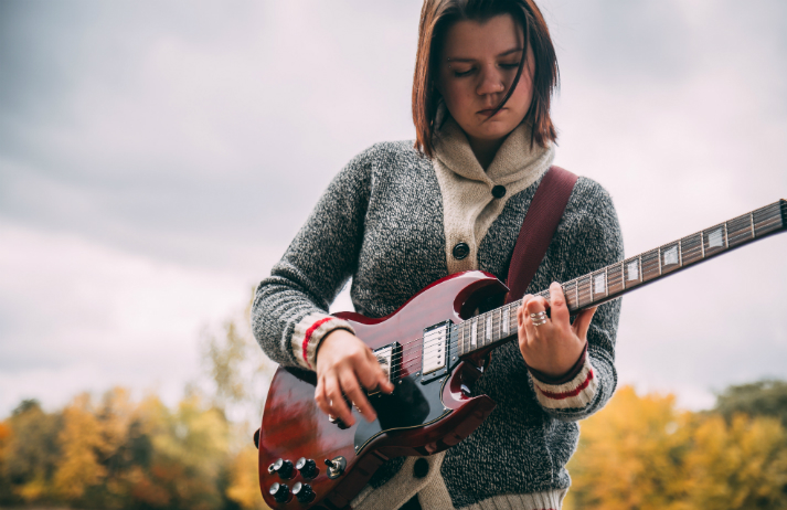 She Shreds blends music and guitar culture with feminism