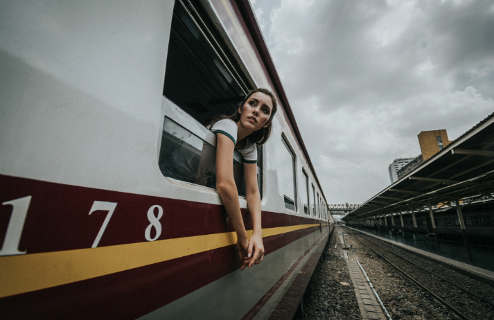 A planet in peril is pushing people back to the railways