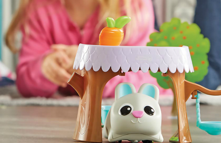 How are children's toys encouraging them to develop STEM skills?