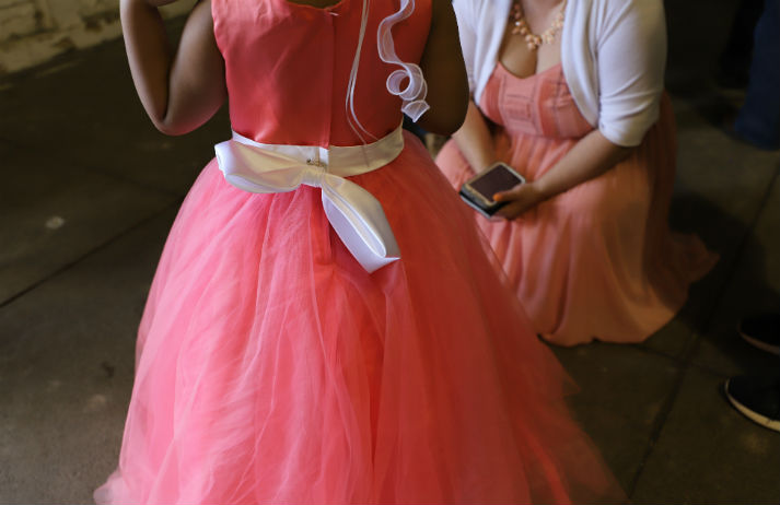 Isolating teens maintain normalcy with TikTok proms