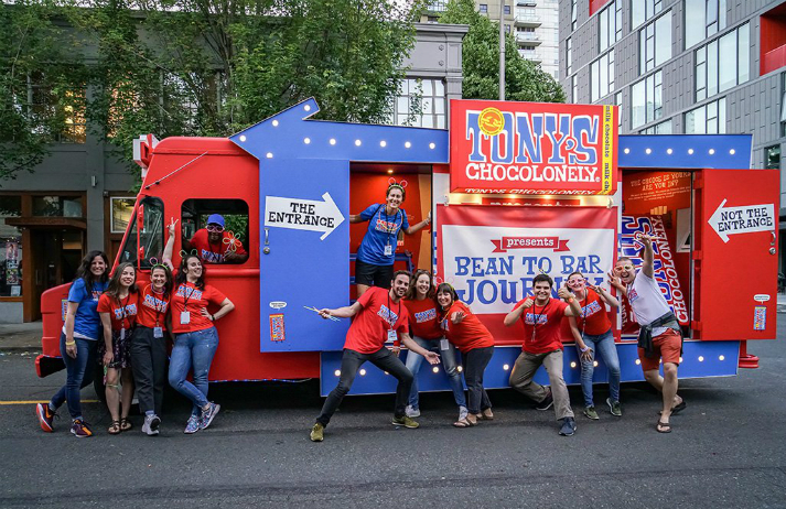 How is Tony Chocolonely making sweets more ethical?