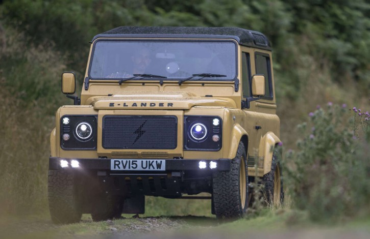 Barbour Land Rover gives driving a luxury appeal