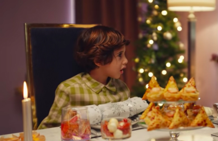 Tesco's anti-naughty list ad relieves pandemic guilt