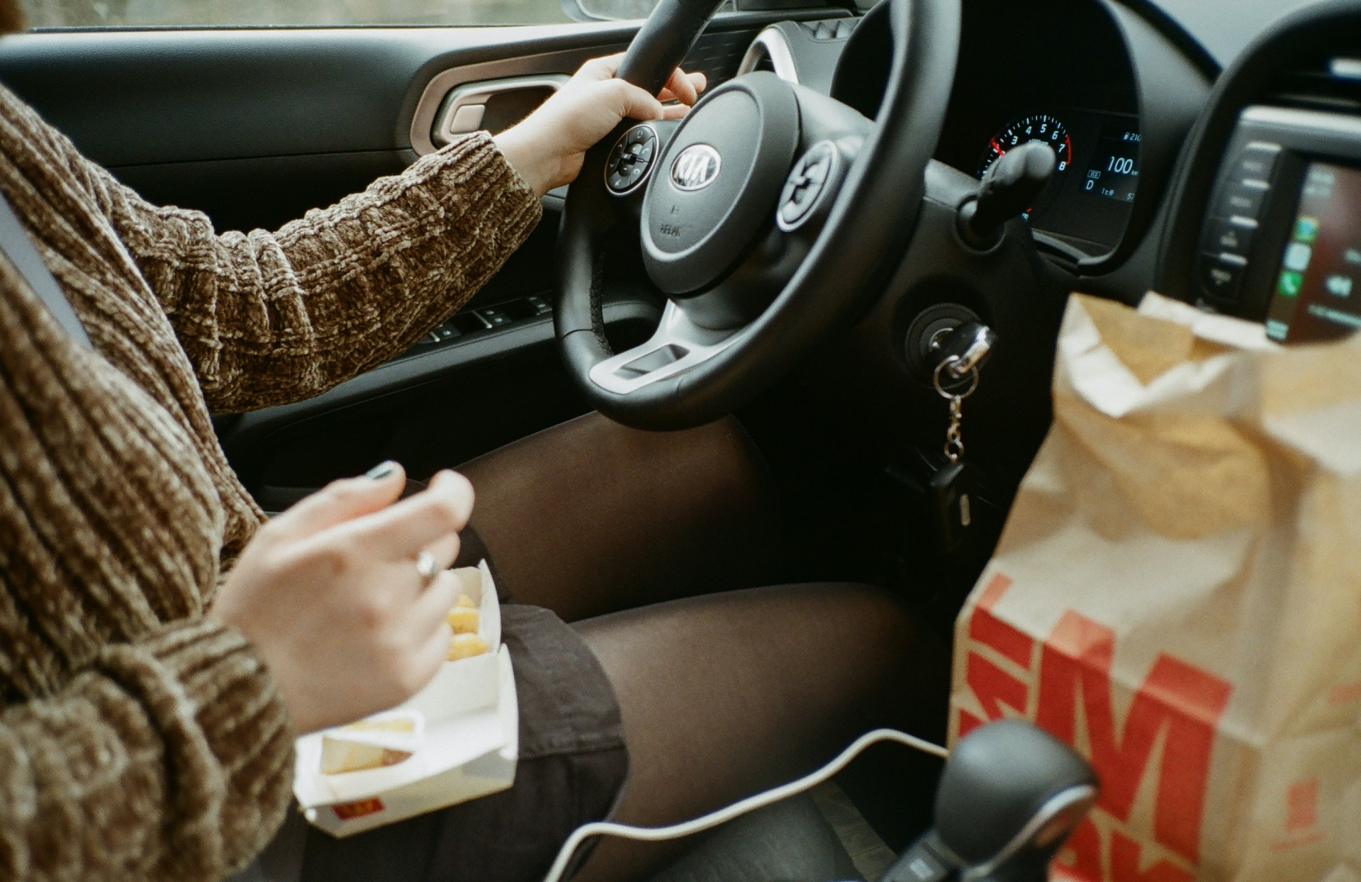 Drive-thru dining offers break from housebound life