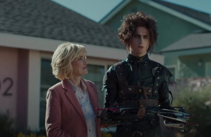 Cadillac's 'Scissorhands' ad delights nostalgic viewers
