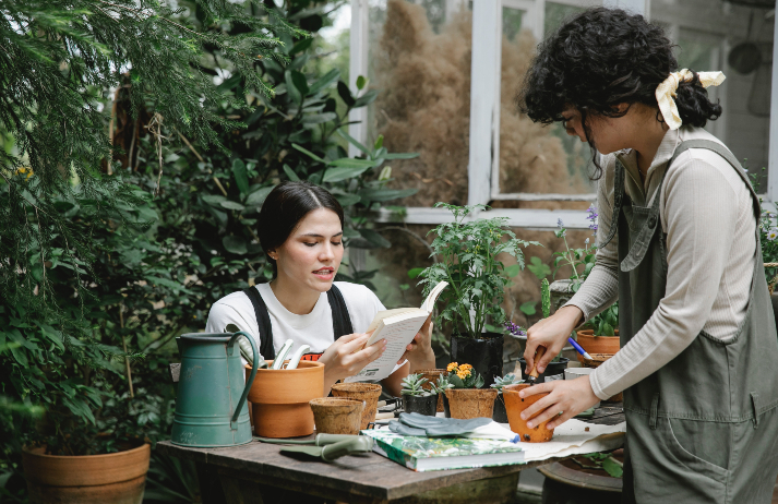 Young people are choosing plants over partying