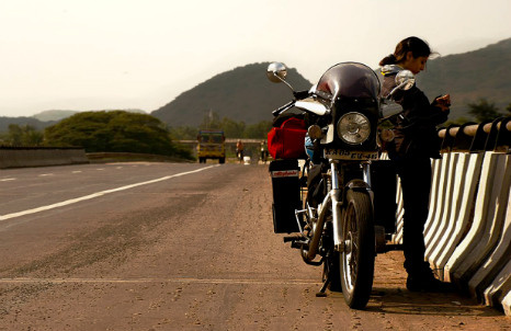 India has four times as many motorbikes as cars