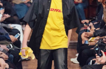 DHL t-shirts become a luxury must-have