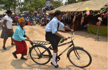 World Bicycle Relief helps kids get to school