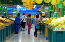 Chinese shoppers go organic