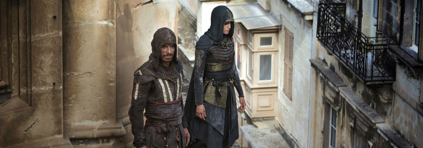 Why 20th Century Fox aired a live stunt ad for Assassin's Creed