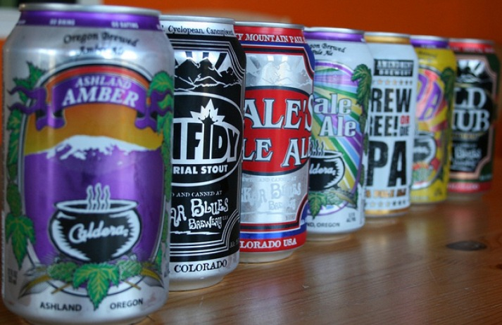 Craft brewers revive the beer can