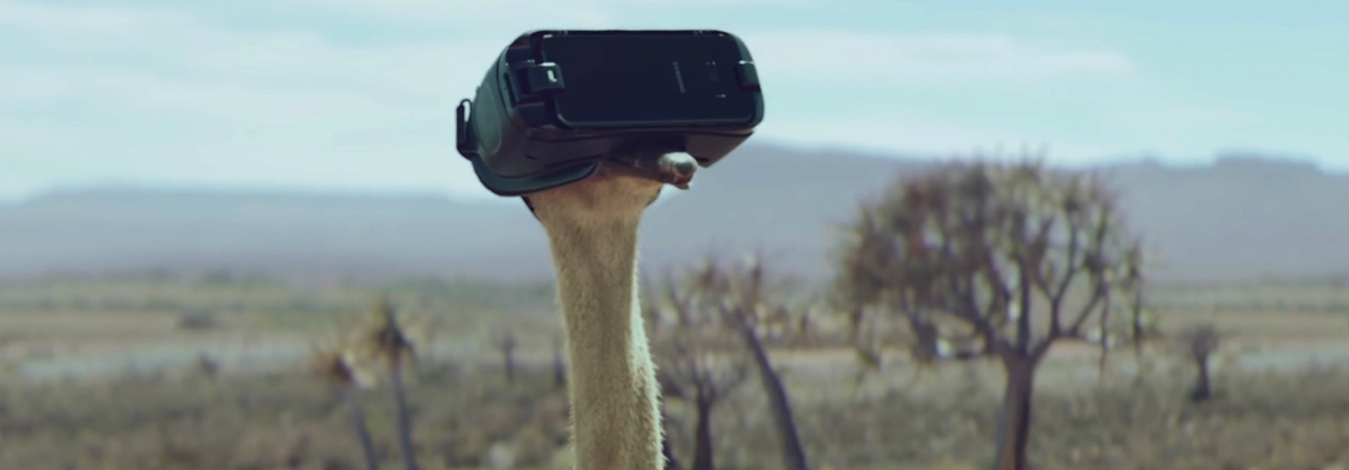 Samsung helps the ostrich take flight in its #DoWhatYouCant campaign