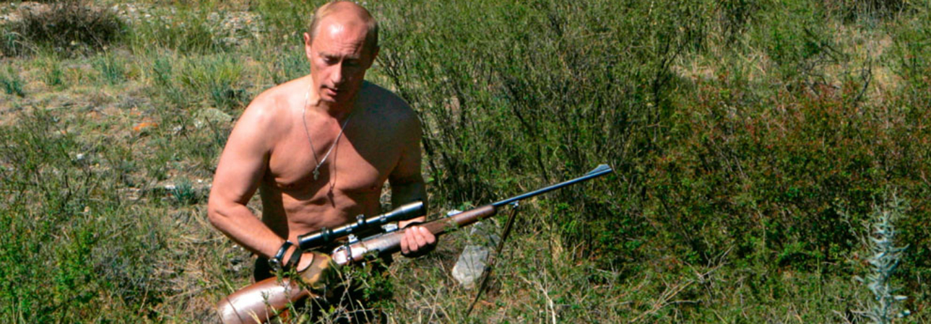 Why Russia is uniting behind shirtless pictures of Putin