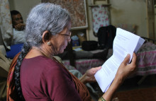 Shrinking Indian families send elderly to care homes