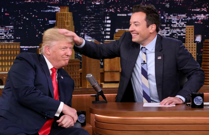 People weren't pleased when Fallon avoided serious issues with Trump