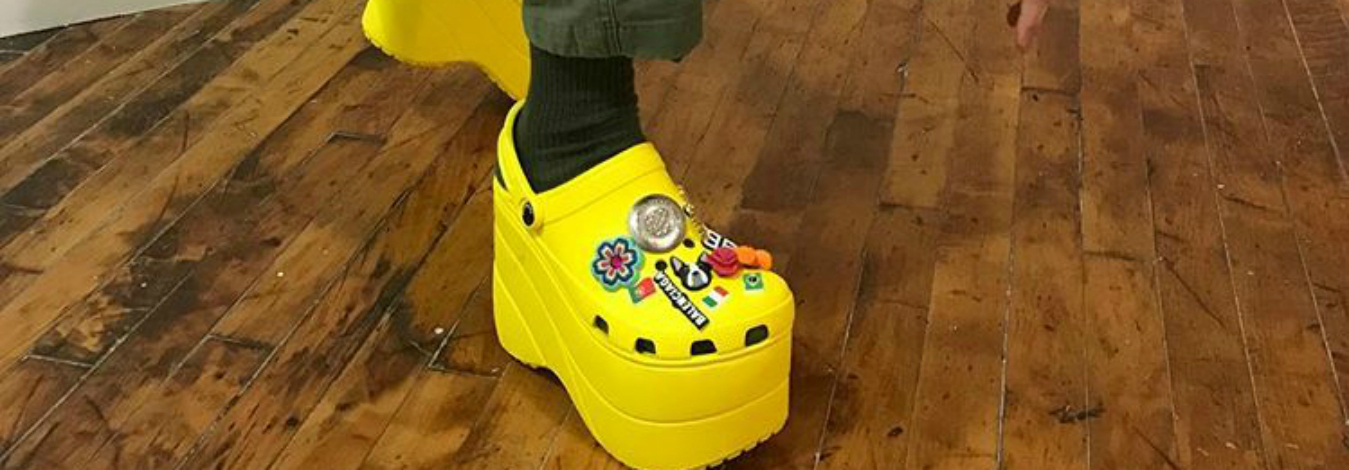 How do Balenciaga's Crocs show the power of the right partner?