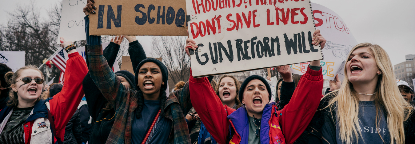 How are Gen Zers holding adults to account with the March for Our Lives?