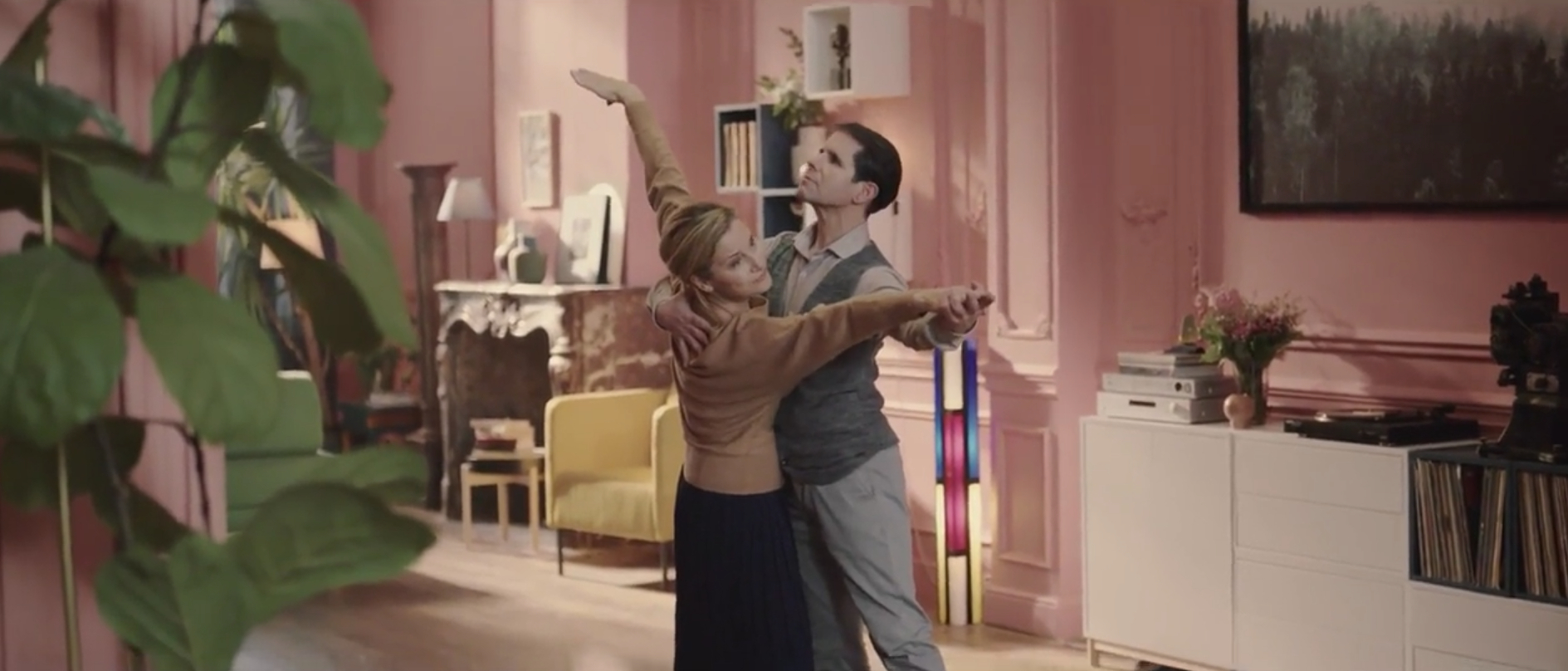 IKEA celebrates unexpected joy in a domestic setting