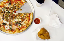 Pizza benefits from health food trend
