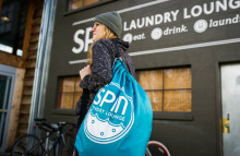 Spin Laundry Lounge: a clean take on the laundromat