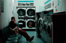 How is the launderette being refreshed?
