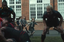 BT Sport Ad inspires young girls to get active