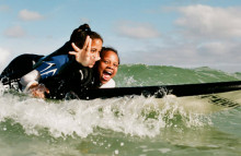 Waves for Change: surf therapy for South Africans