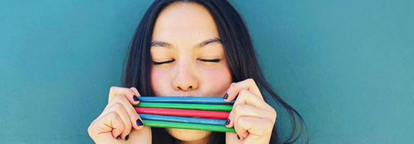 Lolistraw is an edible plastic straw alternative