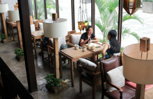 Coffee culture is frothing up in China