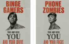 British Army plays on Gen Y stereotypes to recruit them