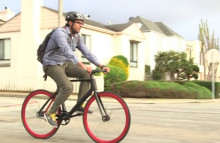 A smart bike for safer cycling