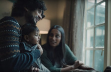 Pampers ad depicts real-life experience of parenthood