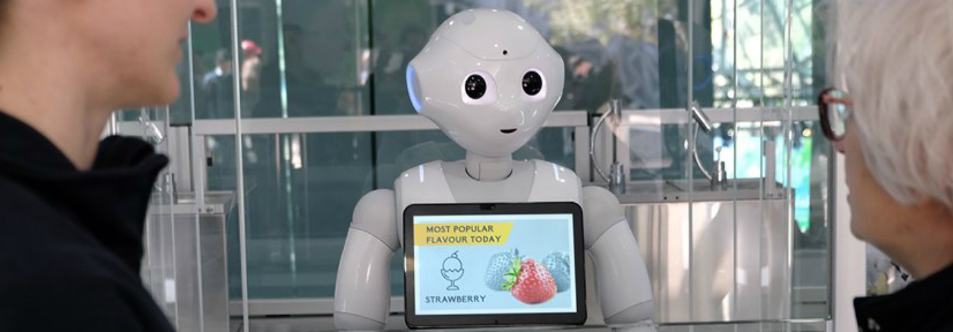 ROBOT ICE-CREAM STAFF EASES AI FEARS FOR AUSTRALIANS