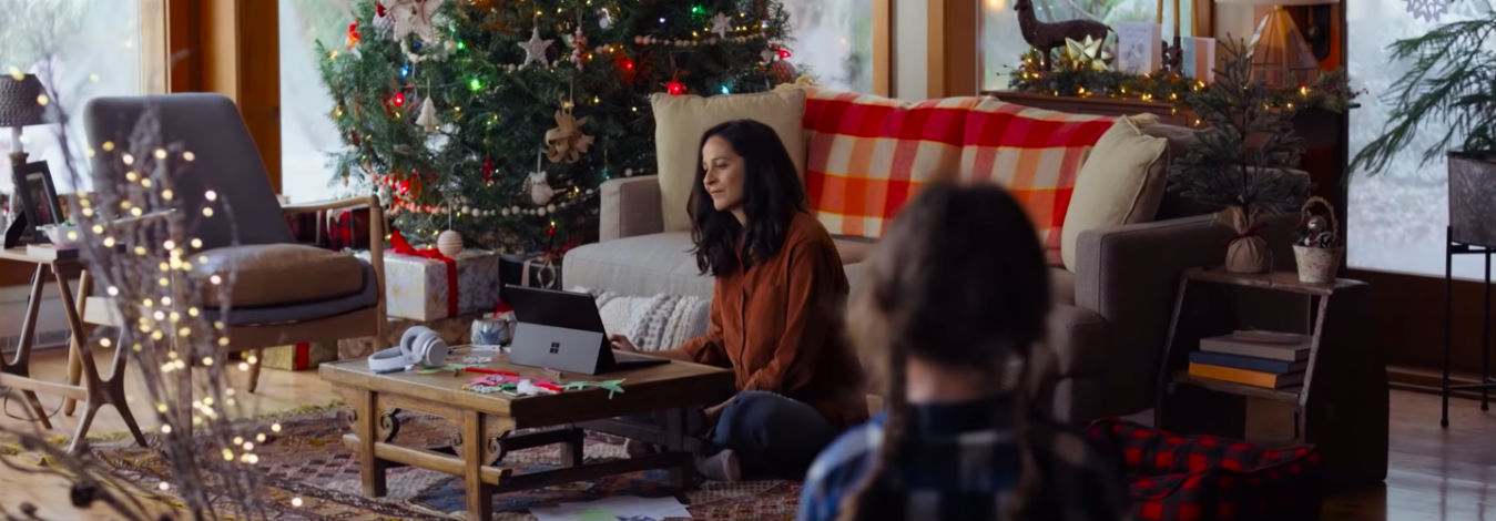 Microsoft ad shows human side of technology
