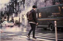 UPS' electric vans help soothe online shopping woes