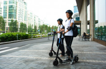 Uber's e-scooters target eco-minded commuters