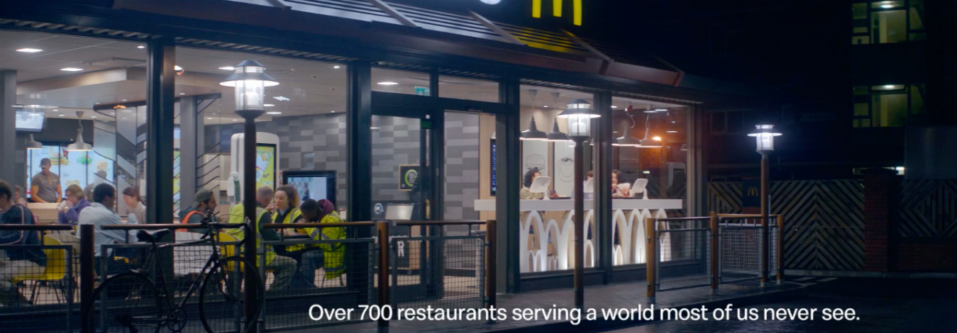 McDonald's praises 'unsung heroes' of the night shift