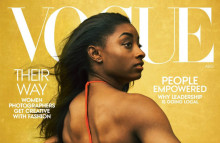 Biles' 'Vogue' cover inspires calls for diverse creatives
