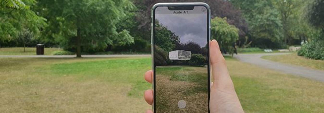 Acute Art uses AR to widen access to remote exhibitions