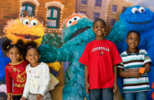 Sesame Street helps kids at school