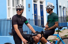 Mr Porter x Rapha promotes cycling for mental health